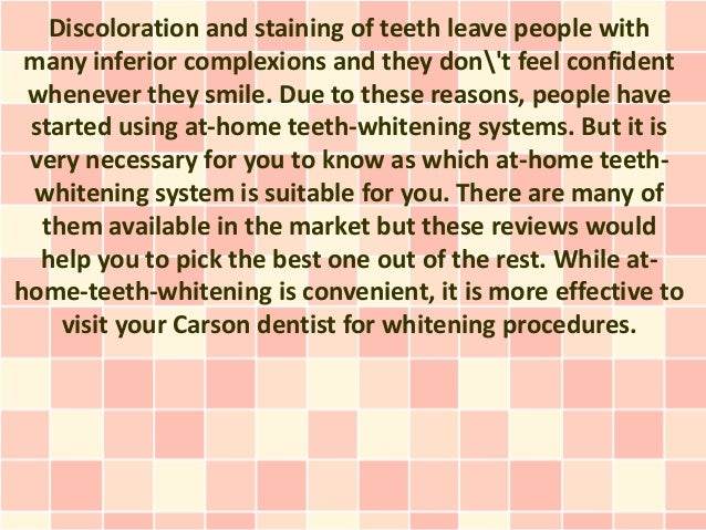Discoloration and staining of teeth leave people with many inferior complexions and they dont feel confident whenever they...