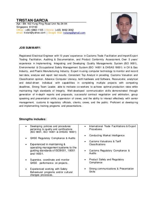 TRISTAN GARCIA Apt / Blk 163 Yung Ping Road Unit No.04-94 Singapore 610163 Office: (+65) 6863-1105 | Mobile: (+65) 8462-30...