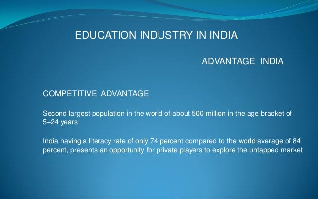 education is only business in india Developing international markets for australian businesses performance measure outcome high-potential international trade opportunities identified and presented to.