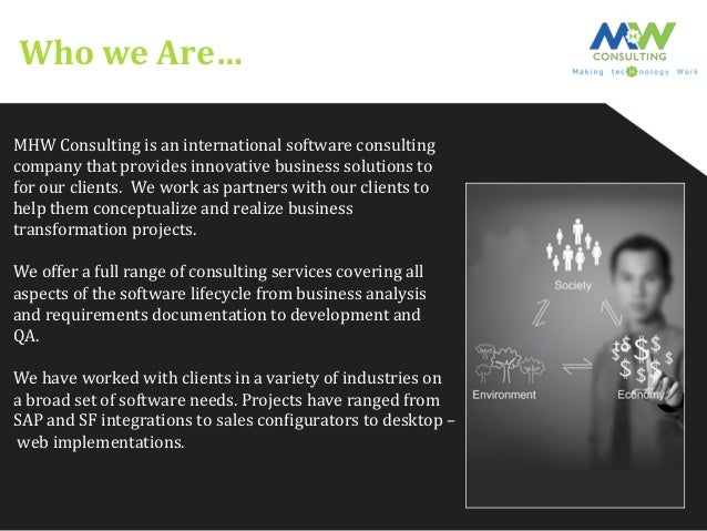 MHW Consulting  Slide 2