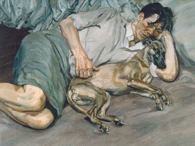869- - Lucian Freud painter Slide 2