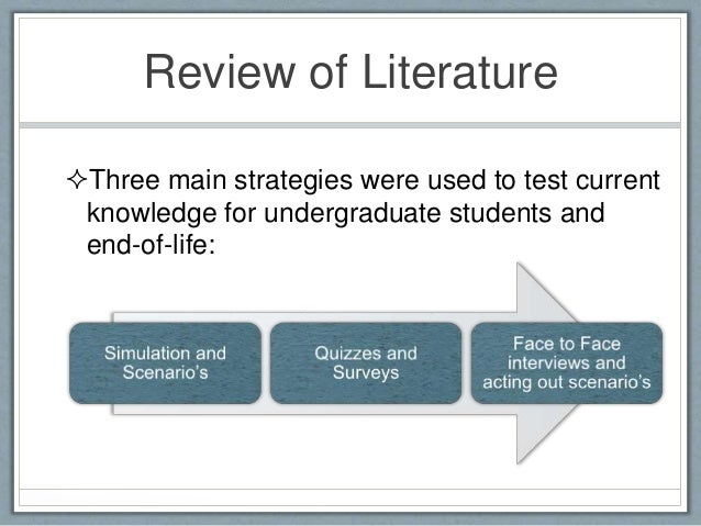 student nurse critical review of literature Systematic review of studies of nursing education outcomes:  student characteristics armstrong,  75 critical care nurses nurse performance.