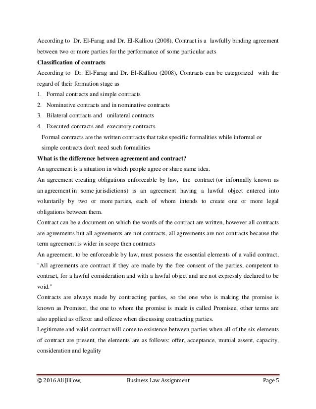 to be enforceable any assignment must be in writing