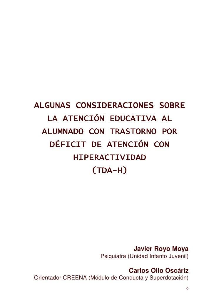 Javier Royo Moya                       Psiquiatra (Unidad Infanto Juvenil)                                  Carlos Ollo Os...