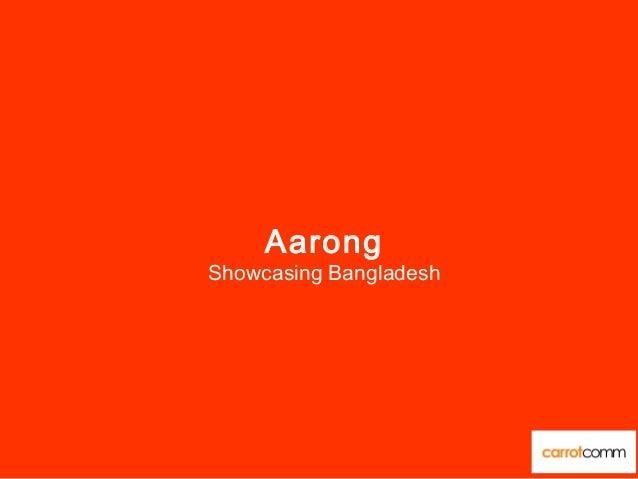 Aarong Showcasing Bangladesh