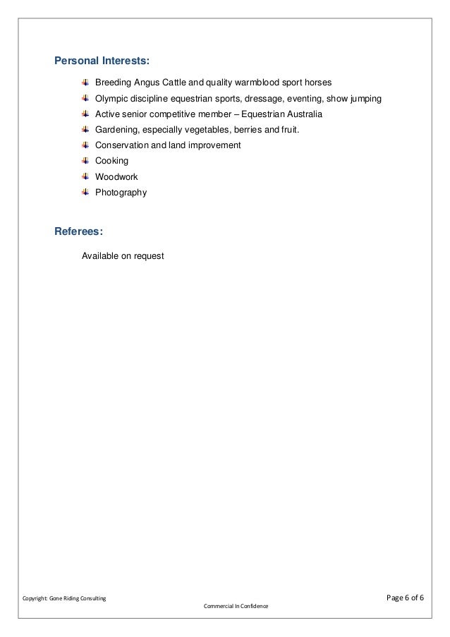 competency statement 6