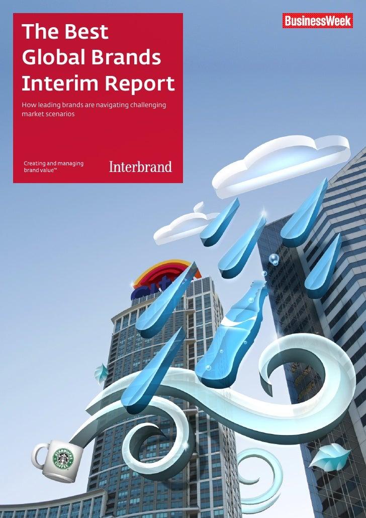 The Best Global Brands Interim Report How leading brands are navigating challenging market scenarios