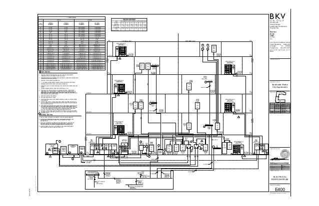 1902 01_southside works_sheet e400 electrical riser diagram Plumbing Sanitary Riser Diagram electrical riser diagram elv 2 elv 1b fire pumpfire pump controller l n e l n e 4th floor