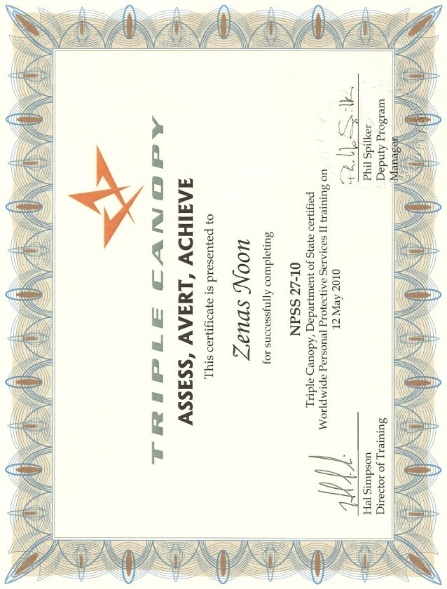 Triple Canopy Training Diploma  sc 1 st  SlideShare & Canopy Training Diploma