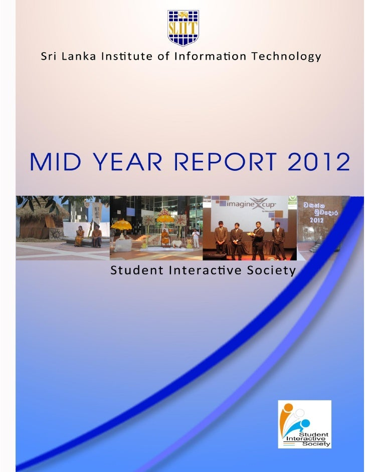 Mid Year Report 2012ContentsAt A Glance......................................................................................