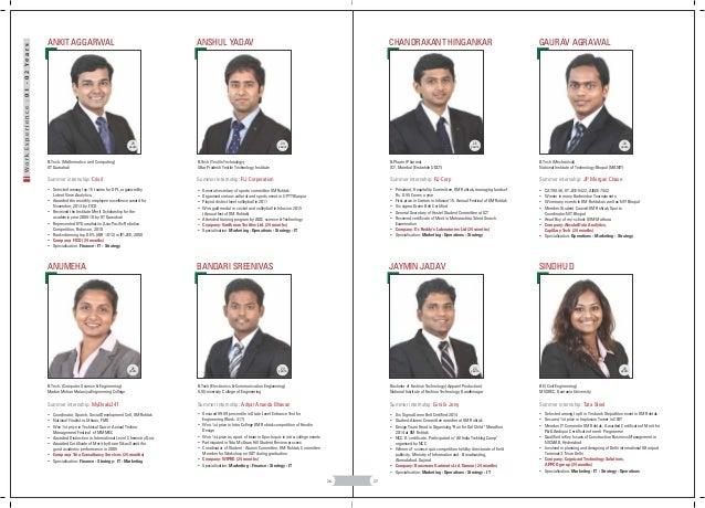 Batch Profile 2014 16 Final Yr