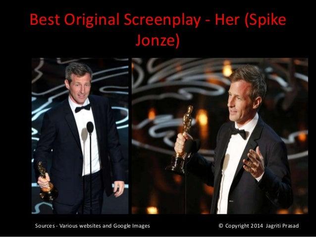 86th Academy Awards, Oscars 2014