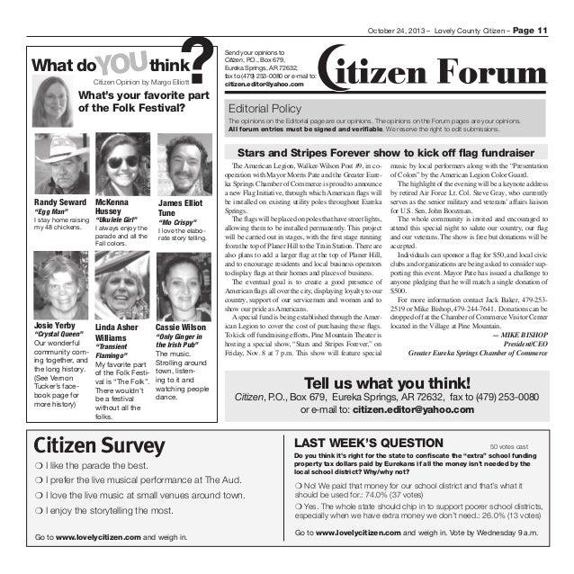 Citizen 102413 Blayne and Landis stories