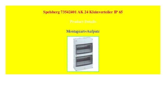Spelsberg 73542401 AK 24 Kleinverteiler IP 65