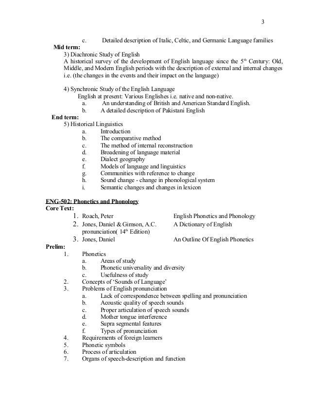 Dissertation course outline