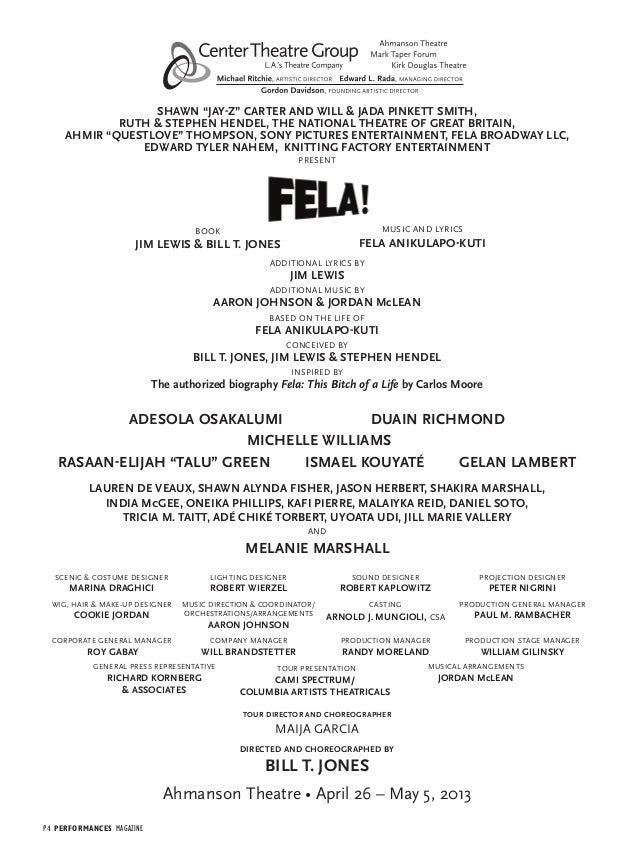 Lyric lyrics to goodnight irene : Fela! Program FINAL (1)