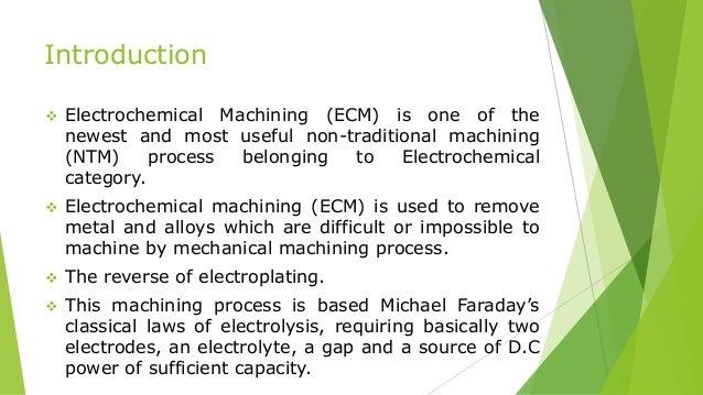 Electrochemical Machining Slide 2