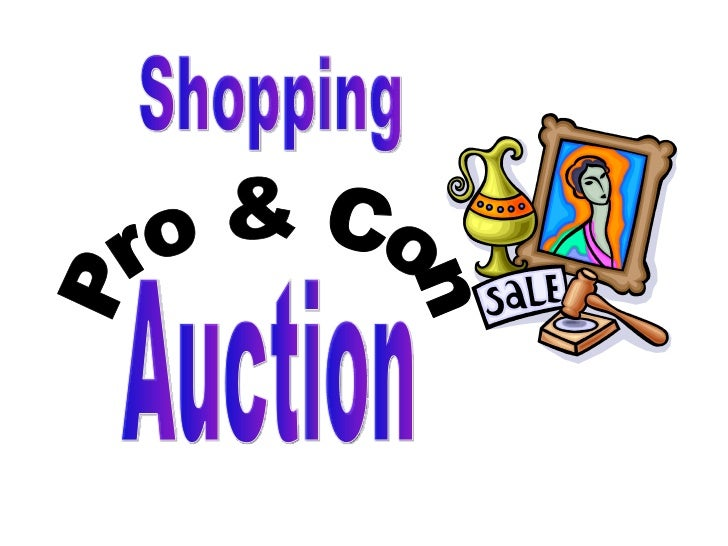Pro & Con Shopping Auction