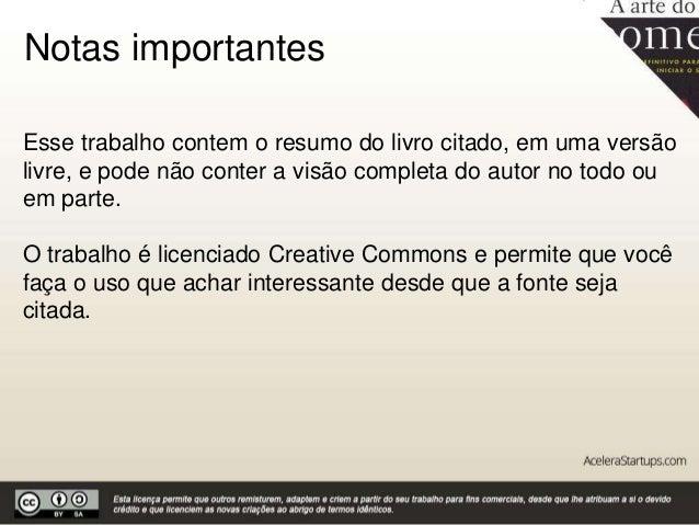 A arte do começo by Acelera Startups Slide 2