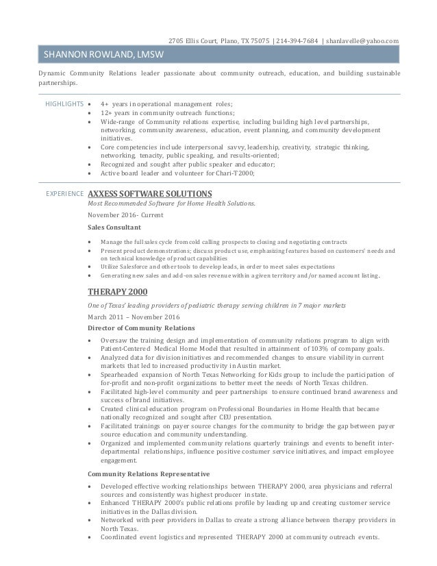 Sample Resume For Teenager Word Shannon Rowland Lmsw Resume Core Qualifications Resume Word with Information Technology Resumes Shannon Rowland Lmsw Resume  Ellis Court Plano Tx      Shanlavelle  Social Work Resumes Pdf