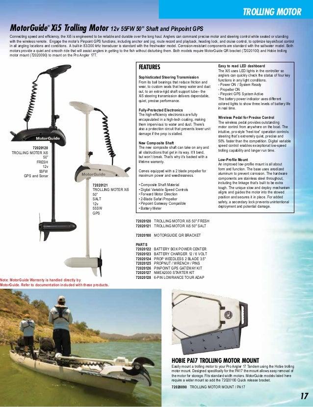 catálogo de accesorios-Hobie Kayak 2016