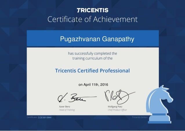 Pugazhvanan Ganapathy on April 11th, 2016 COC0010944