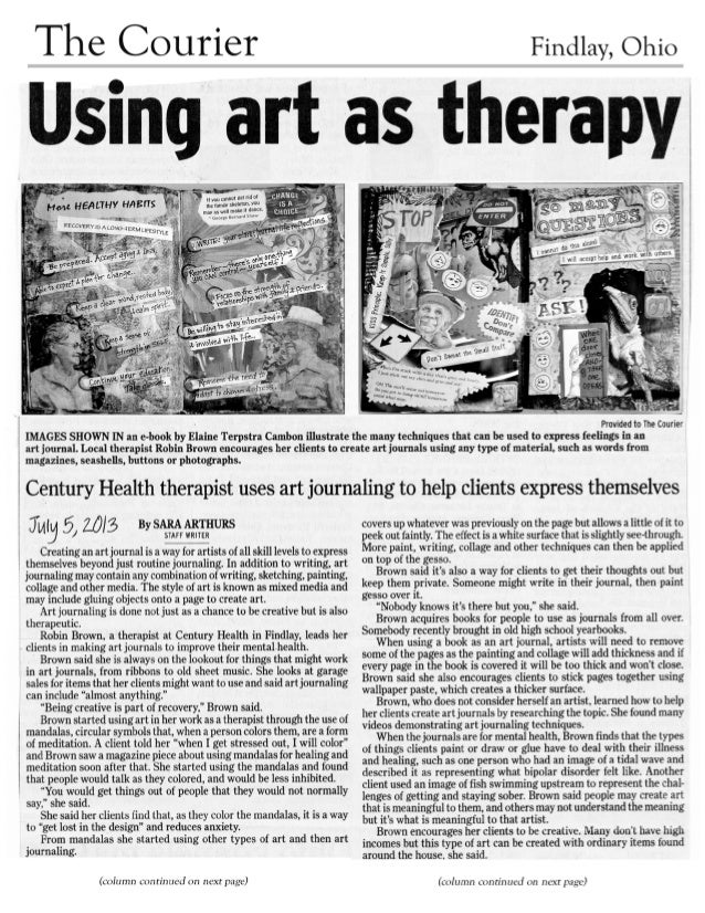 Courier-Story_Art-Journaling