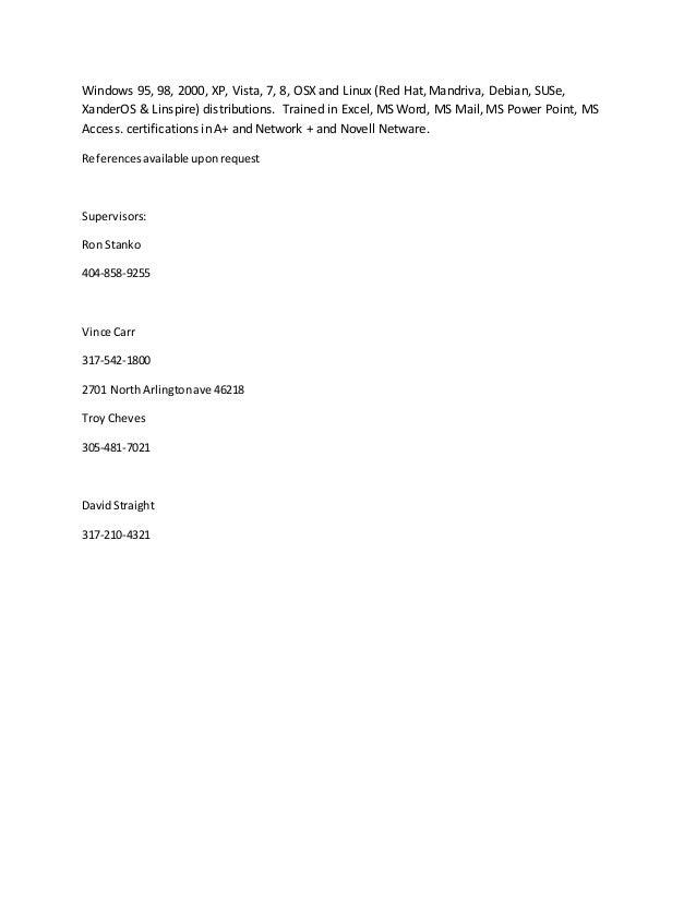 damon wallace resume 2014 1 Appliance Tech Resume 4