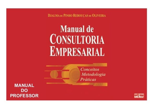 1 MANUAL DO PROFESSOR