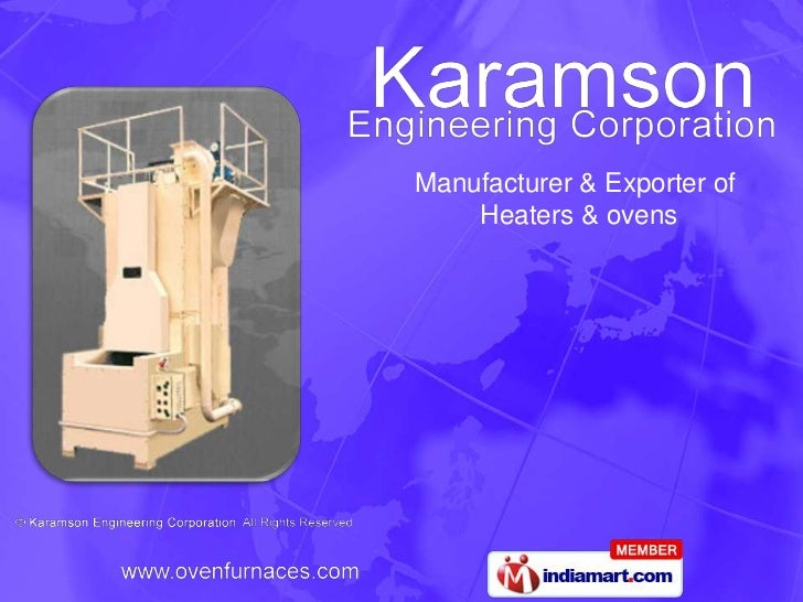 Manufacturer & Exporter of    Heaters & ovens
