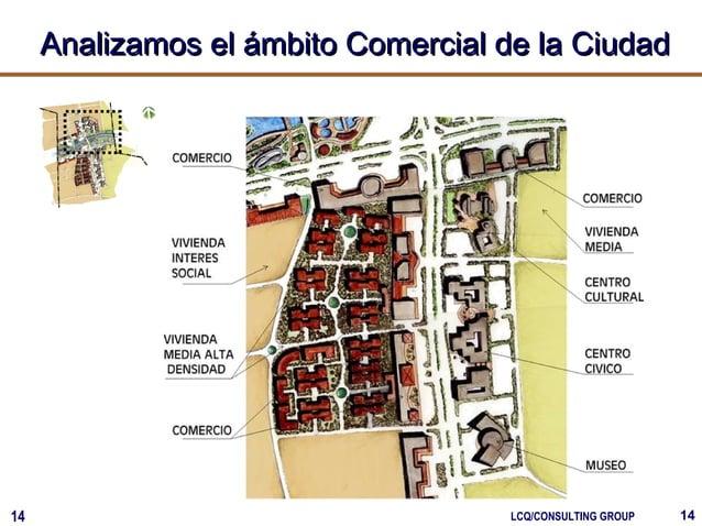 1414 LCQ/CONSULTING GROUP Analizamos el ámbito Comercial de la CiudadAnalizamos el ámbito Comercial de la Ciudad