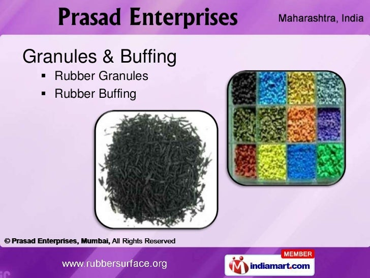 Granules & Buffing   Rubber Granules   Rubber Buffing
