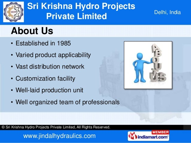 Hydraulic Shredder With Conveyor by Sri Krishna Hydro Projects Private Limited New Delhi Slide 2