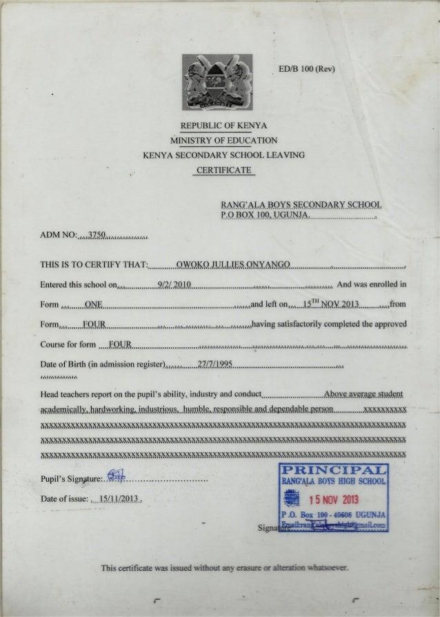 Leaving certificate kcse leaving certificate yadclub Gallery