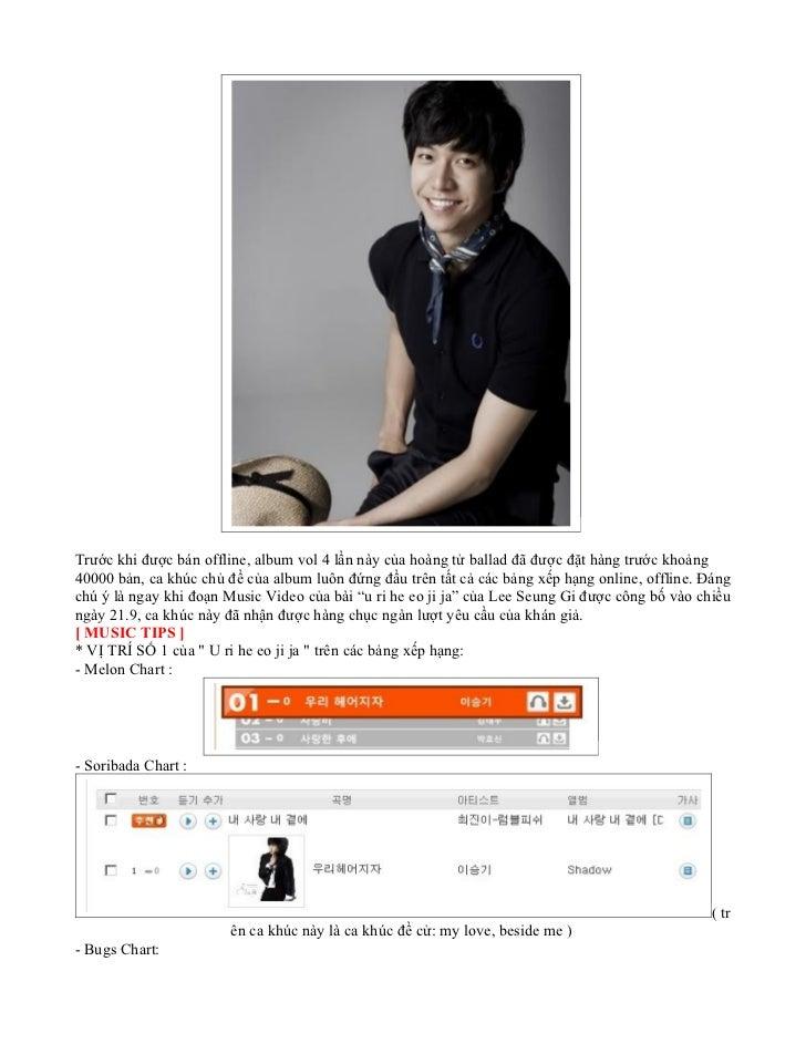 Trước khi được bán offline, album vol 4 lần này của hoàng tử ballad đã được đặt hàng trước khoảng40000 bản, ca khúc chủ đề...