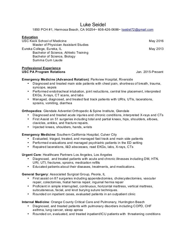 Luke Seidel Resume PDF