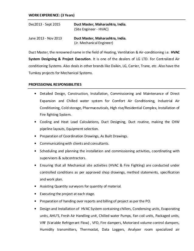 Resume Of Munaf