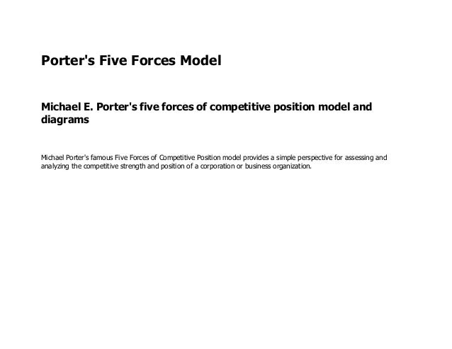 netflix and porter s five forces Get access to case 6 netflix 5 forces analysis essays only from anti essays listed results 1 - 30 get studying today and get the grades you want  porter's five .