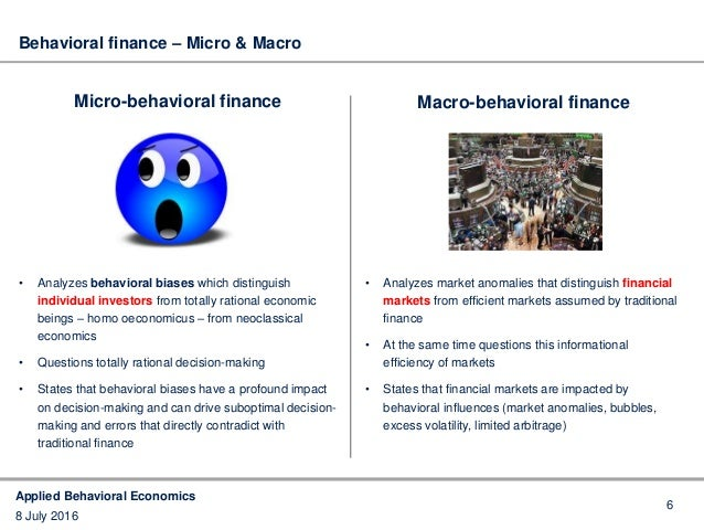 questionnaire on behavioral finance Behavioral finance a study of human psychology throws light on why  by  distributing structured questionnaire among individual investors.