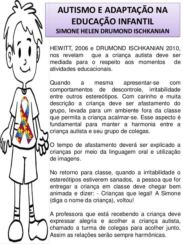 Muitas vezes 87 autismo e adaptação na educação infantil por simone helen drumond FE26