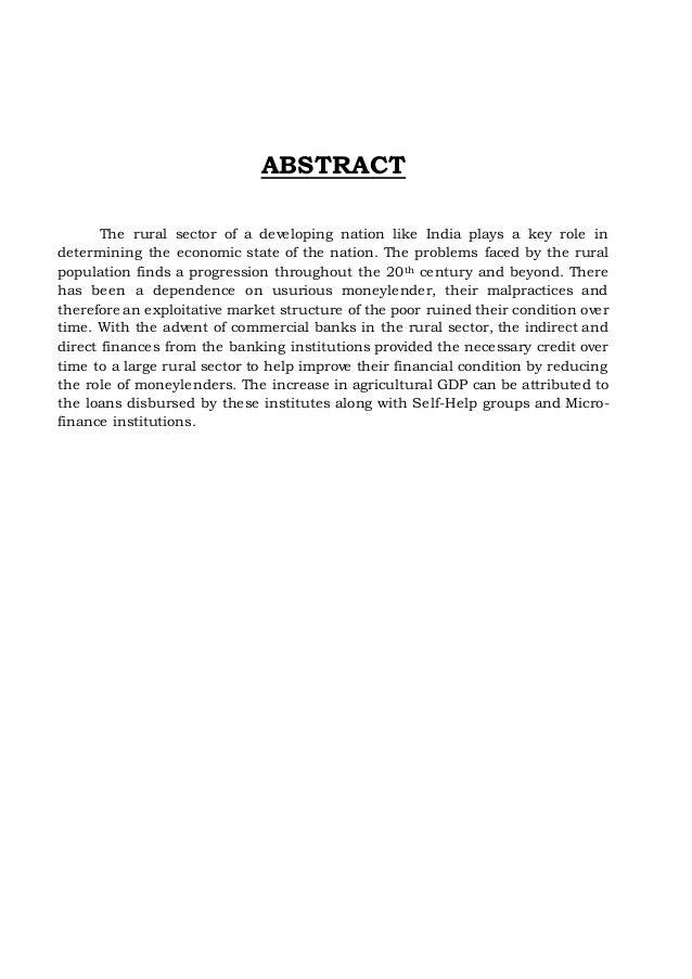 FINANCE_Ahana Sarkar_Role of Rural Credit in Indian Perspective. Slide 3