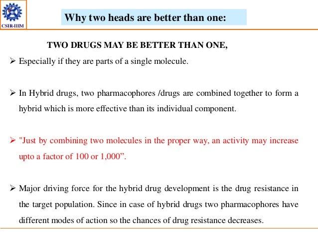 Design of Hybrid Molecules for Drug Development