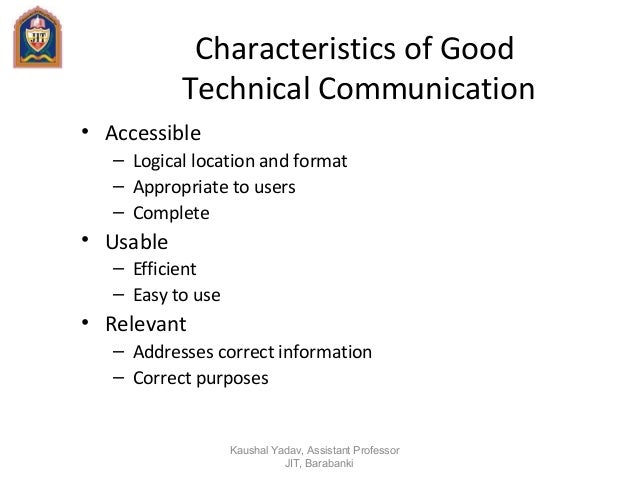 the characteristics of technical communication and good technical documents To accompany technical communication twelfth edition 38 the writing process for technical documents 110 an effective claim letter.
