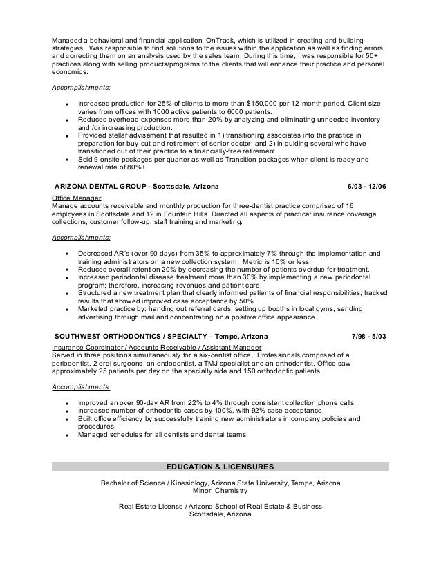 Awesome Charity Management Resume Ideas - Best Resume Examples by ...