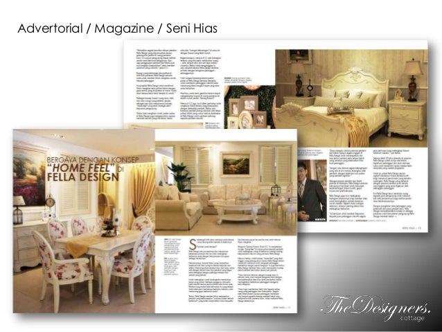 Advertorial / Magazine / Seni Hias
