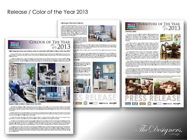 Release / Color of the Year 2013