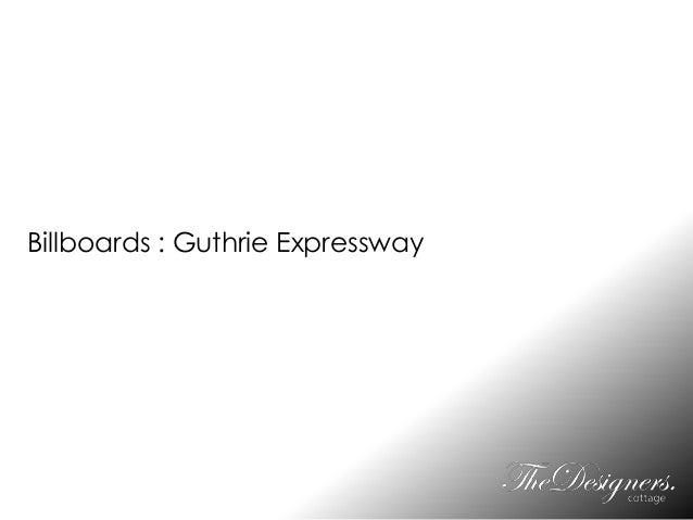 Billboards : Guthrie Expressway