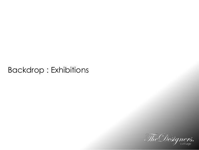 Backdrop : Exhibitions