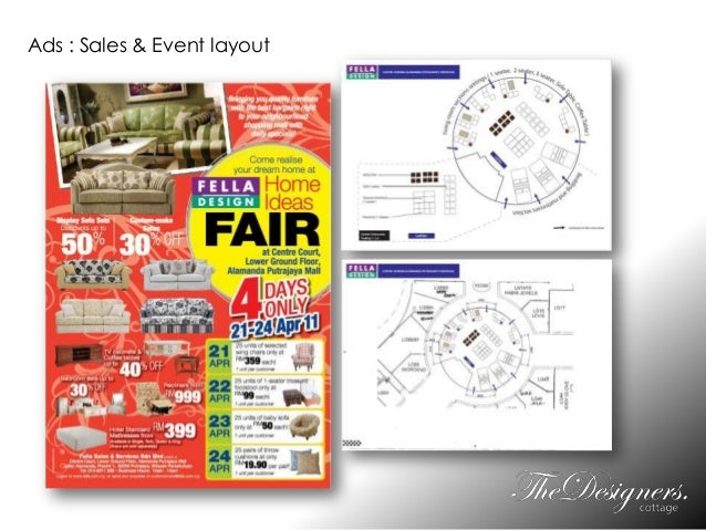 Ads : Sales & Event layout