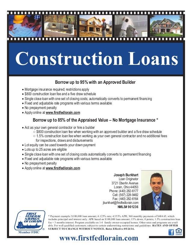 2016 construction loan flyer joseph
